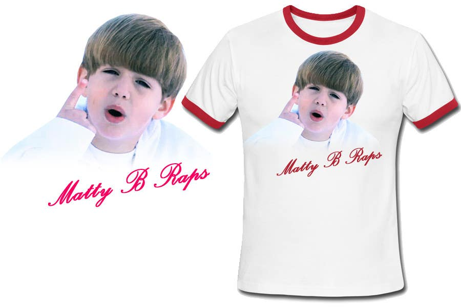 Конкурсная заявка №90 для Cool T-shirt Design for MattyBRaps