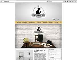 nº 1 pour Make a sketch design for the project El Informador / Hacer un boceto para el diseño web de El Informador par rosariozamudio