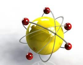 nº 25 pour Design an image of an atom and electrons par palyokhan