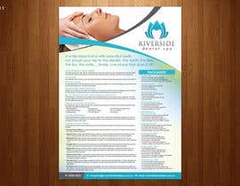 #40 for Design a day spa flyer (size A4) by teAmGrafic