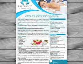 #38 for Design a day spa flyer (size A4) by aplombmedia