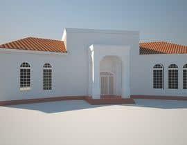 nº 42 pour Render a house entrance par robertcincak