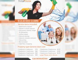 nº 61 pour Design an a5 flyer for a cleaning business par prabhjotsajjan