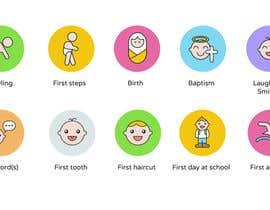nº 4 pour Design Icons for Baby/Child themed application par lpfacun