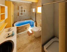 nº 35 pour Design my bathroom layout par krishancool