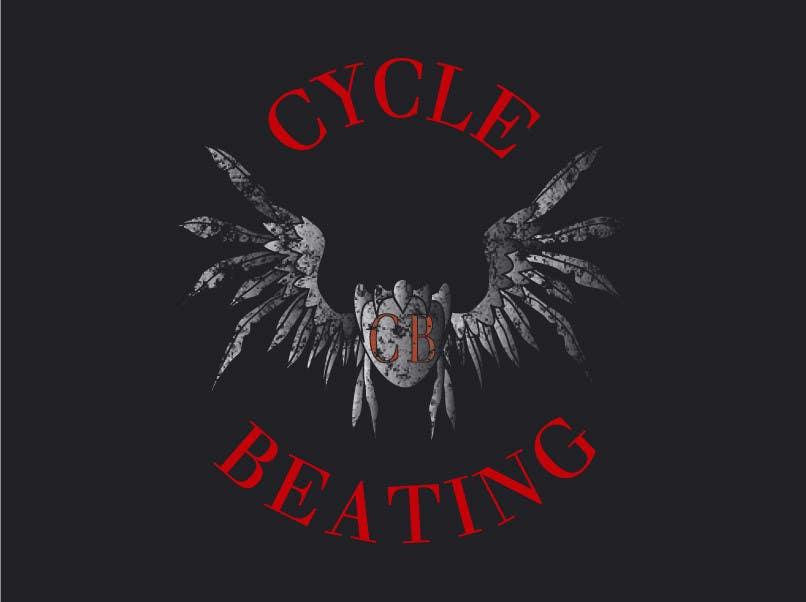 Penyertaan Peraduan #112 untuk Logo Design for heavy metal band CYCLE BEATING