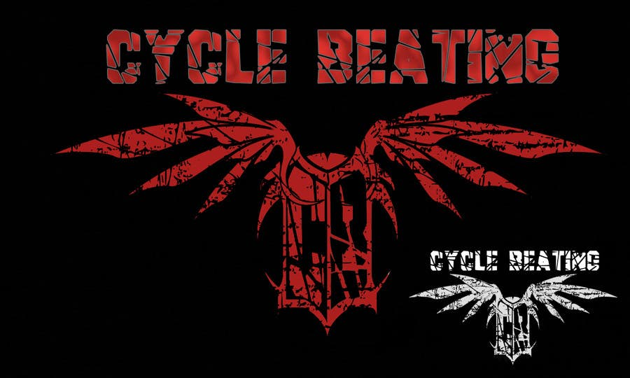 Contest Entry #76 for Logo Design for heavy metal band CYCLE BEATING