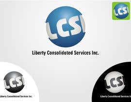 robertlopezjr tarafından Logo Design for LCSI Liberty Consolidated Services Inc. için no 10