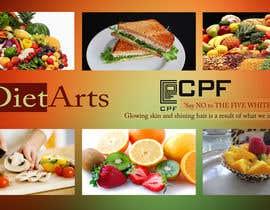 #42 para Design a Banner/Backdrop for CPF food outlet chain por rajumax