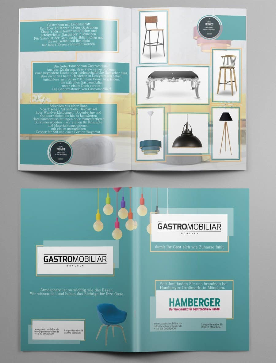 Proposition n°9 du concours Design a simple but stylish broschure