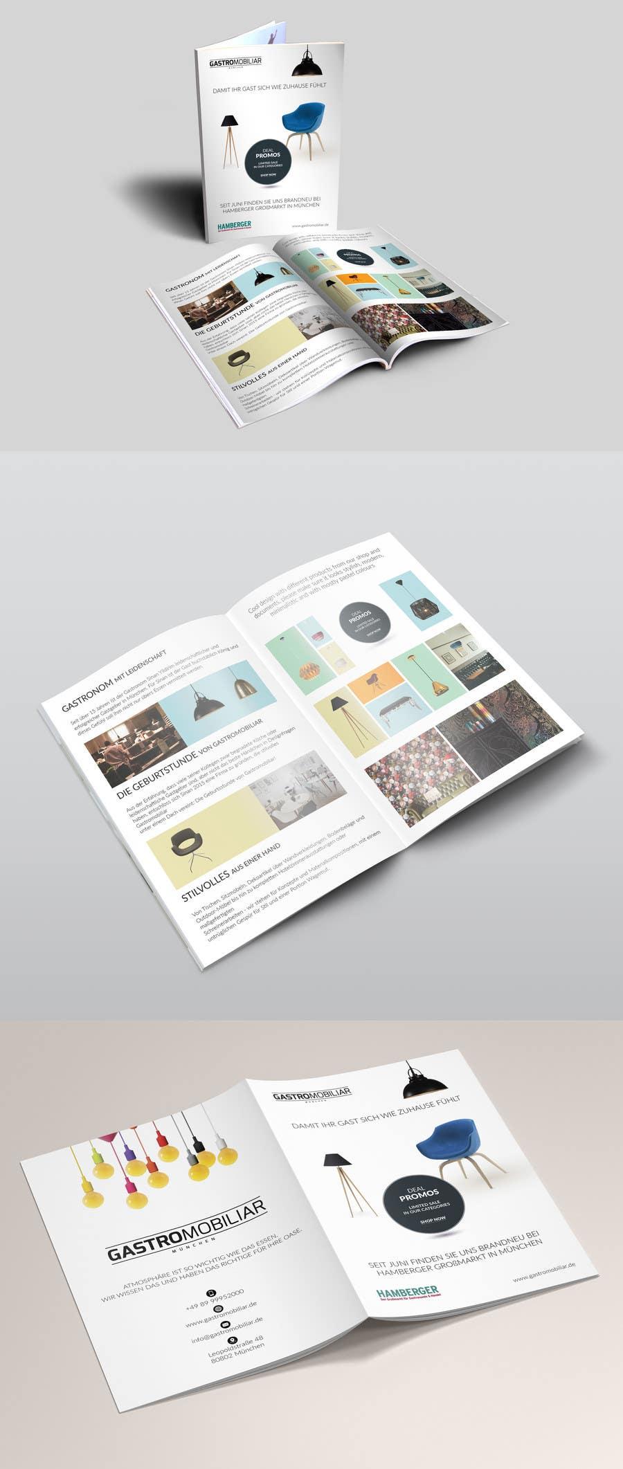 Proposition n°47 du concours Design a simple but stylish broschure