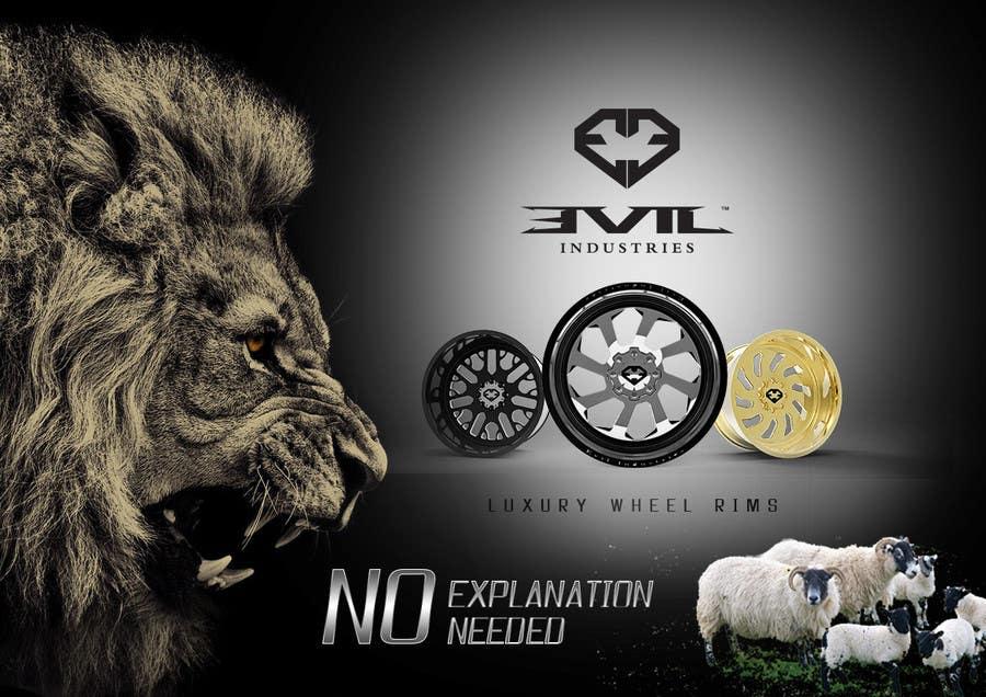 Proposition n°25 du concours Design an Advertisement For Luxury Wheel (Rims)