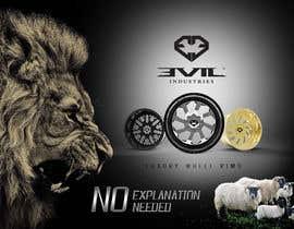 nº 25 pour Design an Advertisement For Luxury Wheel (Rims) par madlabcreative