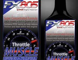 nº 24 pour Print & Packaging Design for Throttle Muscle FX805 par GraphicsStudio