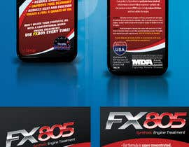 nº 3 pour Print & Packaging Design for Throttle Muscle FX805 par csoxa