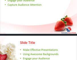 #50 for design a ppt theme template by designbuz
