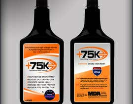 siddjain tarafından Print & Packaging Design for +75K High Mileage Engine Treatment için no 71