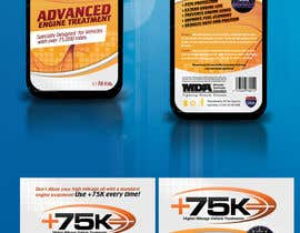 #94 for Print & Packaging Design for +75K High Mileage Engine Treatment af csoxa