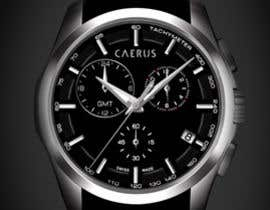 ARUNVGOPAL tarafından Design a Logo for Luxury Mens Watch için no 18