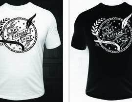 #25 for 1A & 2A Rights T-Shirt af sauravarts