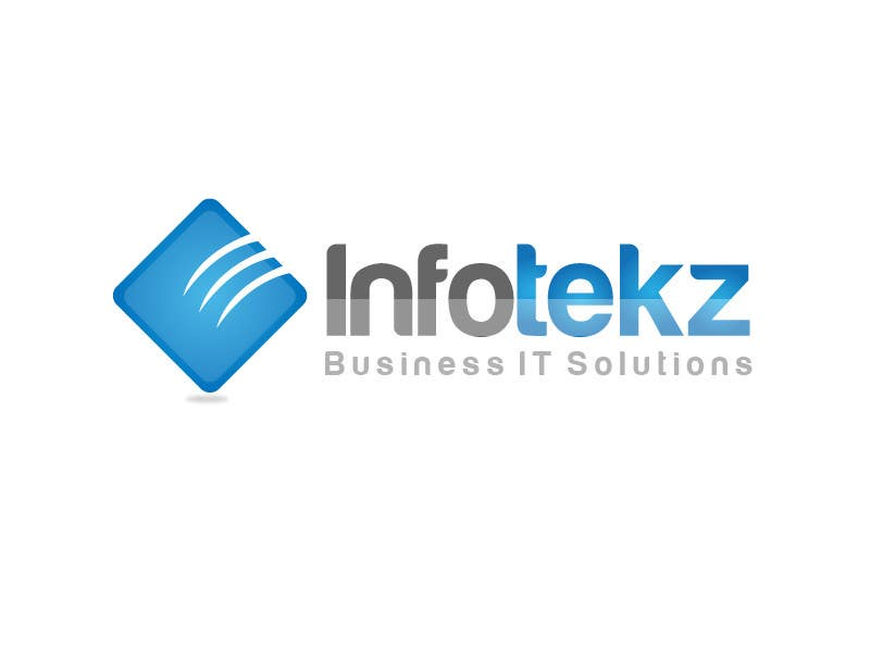 #283 for Logo Design for INFOTEKZ  (Please Try 3D Logo/Font) : Please see attached vector image by rraja14
