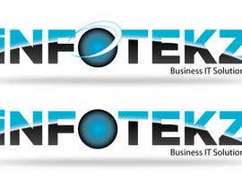 nº 219 pour Logo Design for INFOTEKZ  (Please Try 3D Logo/Font) : Please see attached vector image par SteveReinhart