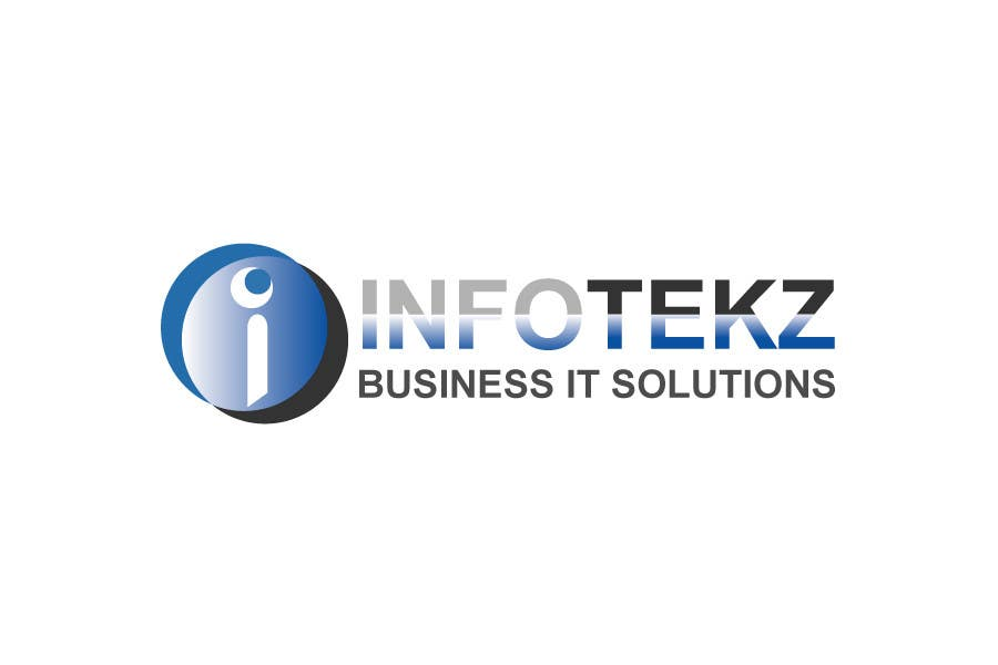 Logo Design Contest Entry #313 for Logo Design for INFOTEKZ  (Please Try 3D Logo/Font) : Please see attached vector image