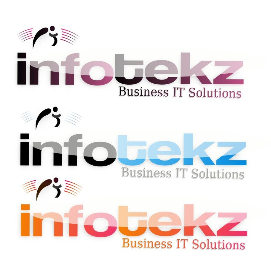 #309 for Logo Design for INFOTEKZ  (Please Try 3D Logo/Font) : Please see attached vector image by disignSoft