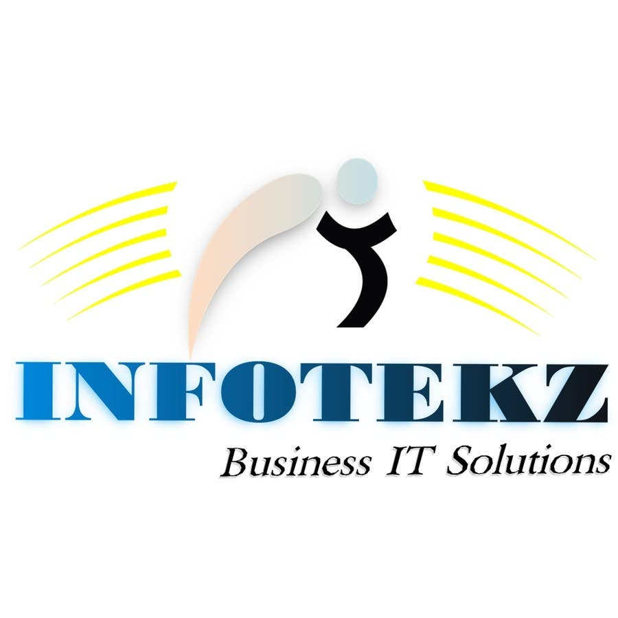 Logo Design Contest Entry #67 for Logo Design for INFOTEKZ  (Please Try 3D Logo/Font) : Please see attached vector image