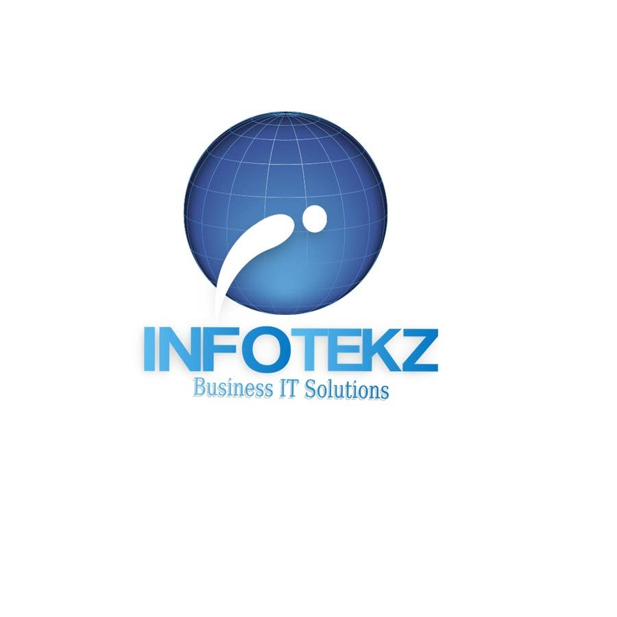 #300 for Logo Design for INFOTEKZ  (Please Try 3D Logo/Font) : Please see attached vector image by disignSoft