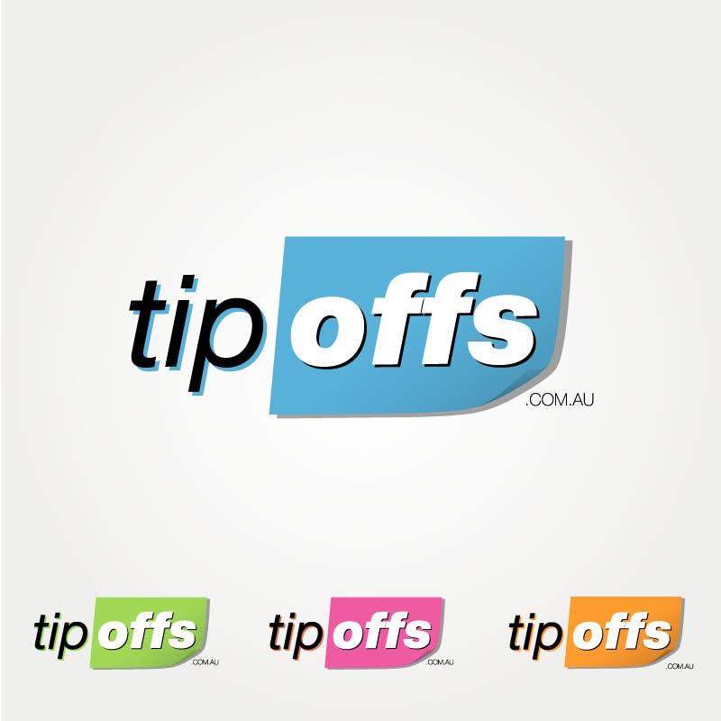 Penyertaan Peraduan #92 untuk Logo Design for tipoffs