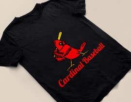 nº 14 pour Design a Cardinal Baseball Logo par mijan7