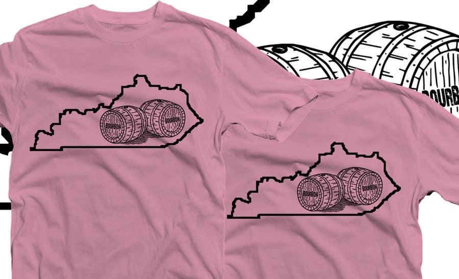Proposition n°46 du concours Design a T-Shirt - Bourbon State