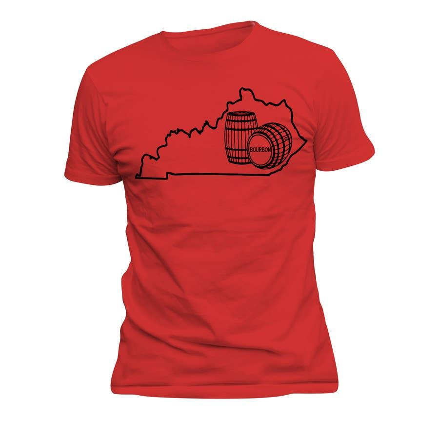 Proposition n°39 du concours Design a T-Shirt - Bourbon State