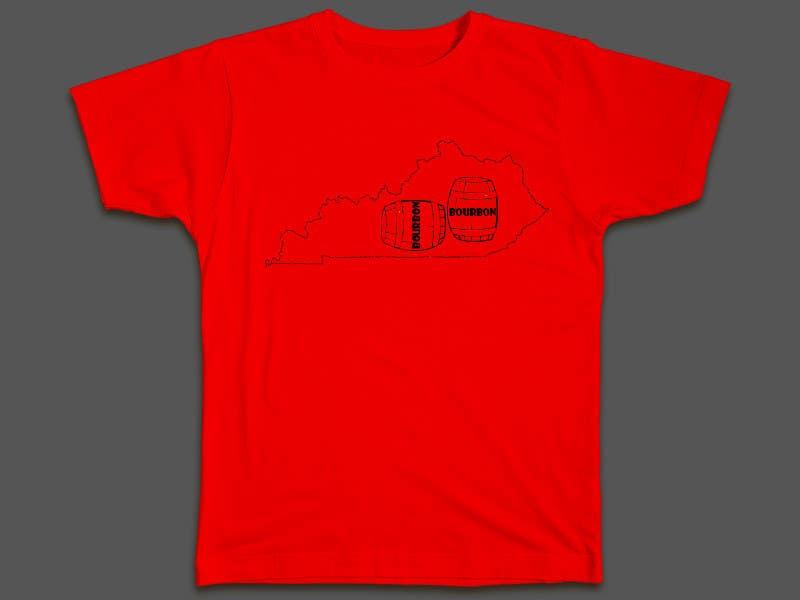 Proposition n°37 du concours Design a T-Shirt - Bourbon State
