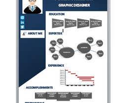 nº 8 pour One Page Interactive Resume Design par EngMariam1991