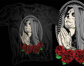 #14 para Design a T-Shirt  with a Sugar skull logo style theme de novuz