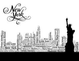 nº 188 pour Design an Image using words for NYC par Beena111