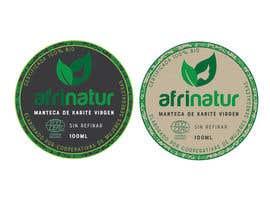 nº 24 pour Design two round labels for a natural product par lounzep