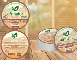 nº 20 pour Design two round labels for a natural product par Rommie001