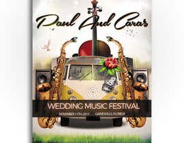 #72 for Design a Music Festival Wedding Poster by ibrahim2025
