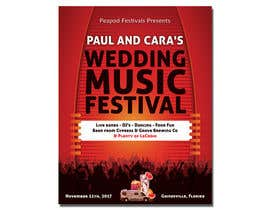 #69 for Design a Music Festival Wedding Poster by MrAhsanImran