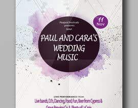#78 for Design a Music Festival Wedding Poster by alif810