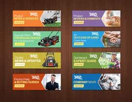 nº 10 pour FAQs Banners for Website par avizeet85