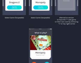 nº 20 pour Design a mockup for a board game score tracking app par dikigunawan