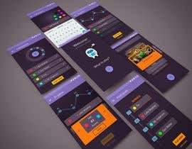 nº 22 pour Design a mockup for a board game score tracking app par DanilaKolbasin