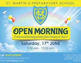 #35 for Design a flyer for open morning June 2017 by MooN5729