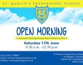 #30 for Design a flyer for open morning June 2017 by banhthesanh