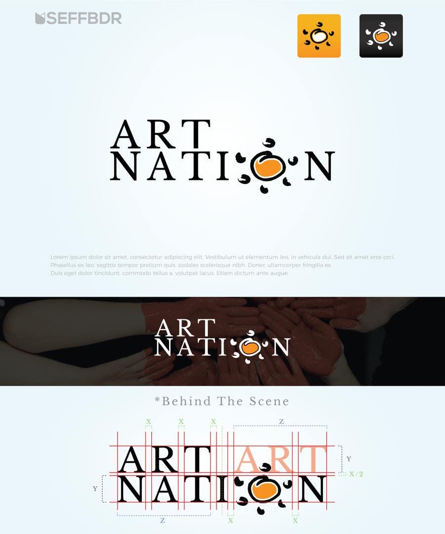 Proposition n°21 du concours Logo Design for a Art Related Website