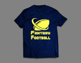 nº 5 pour Typography Tshirt Design for Fantasy Football par xhzahid
